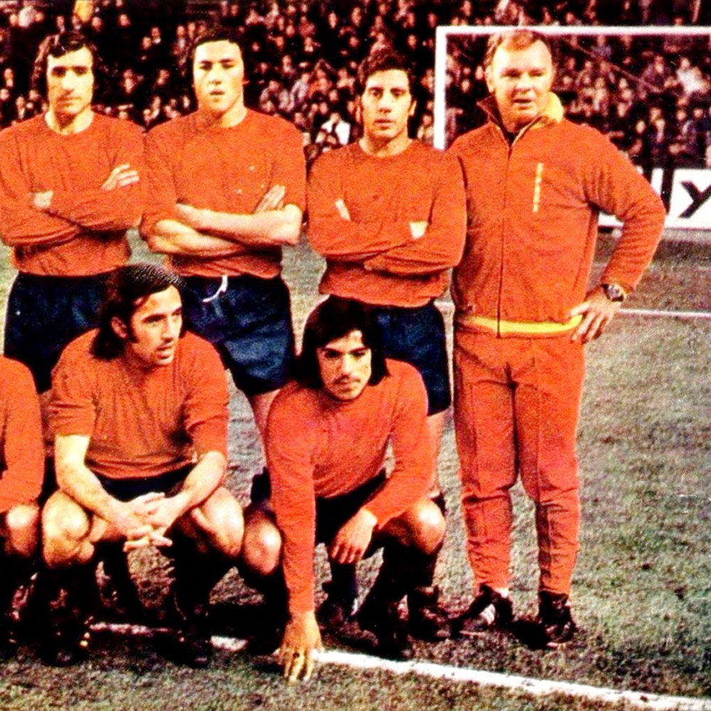 Spagna 1974 Giacca Storica Calcio
