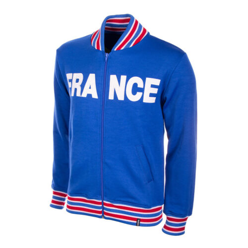 France 1966 Retro Football Track Top