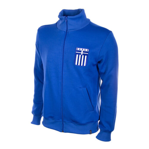 Greece 1972 Retro Football Track Top