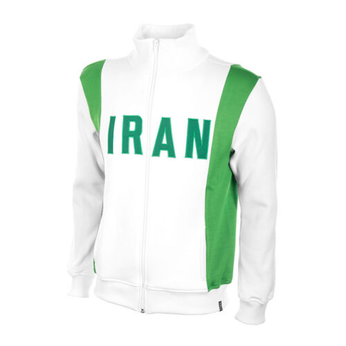 Iran 1978 Retro Football Track Top