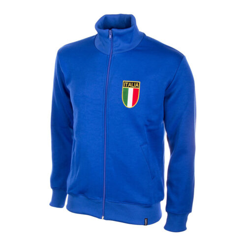 Italy 1970 Retro Football Track Top