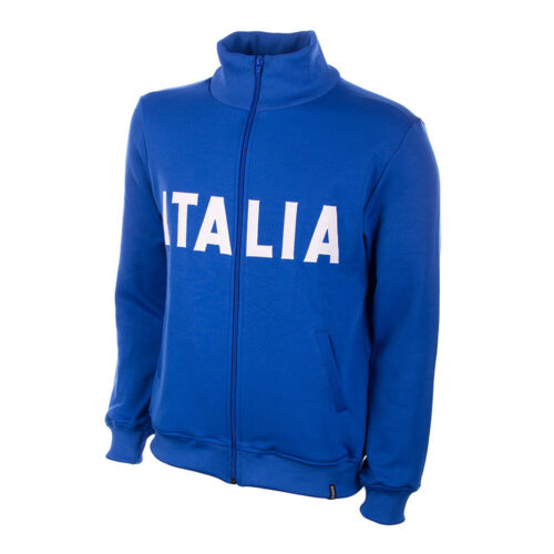 Italy 1973 Retro Football Track Top