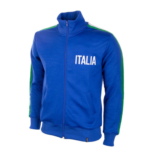 Italy 1974 Retro Football Track Top