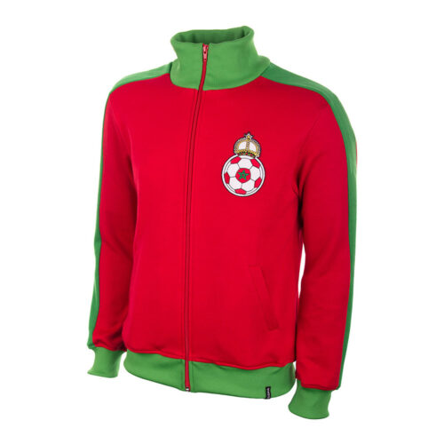 Morocco 1970 Retro Football Track Top