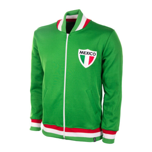 Mexico 1966 Retro Football Track Top