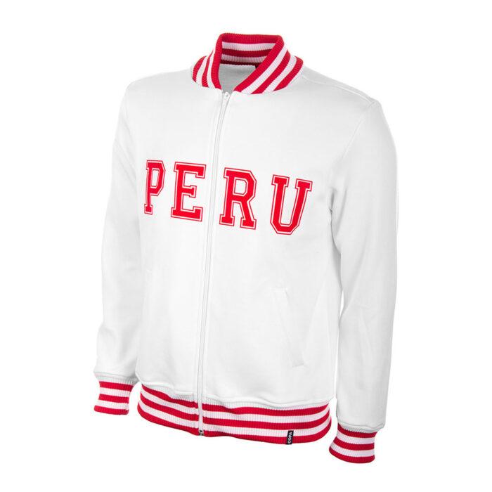 Peru 1970 Retro Football Track Top