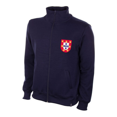 Portugal 1972 Retro Football Track Top