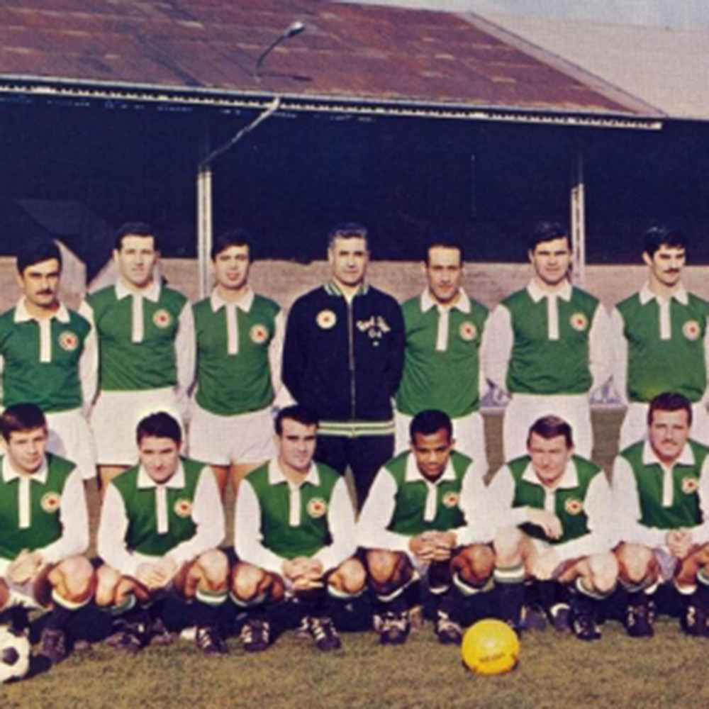 Red Star St Ouen 1964-65 Giacca Storica Calcio