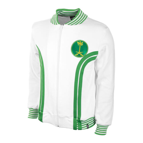 Saudi Arabia 1977 Retro Football Track Top