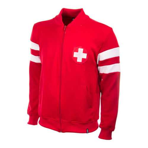 Switzerland 1963 Retro Football Track Top
