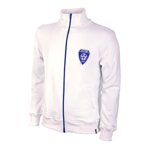 Finland 1972 Retro Football Track Top