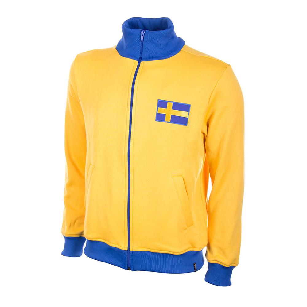 Sweden 1958 Retro Football Track Top