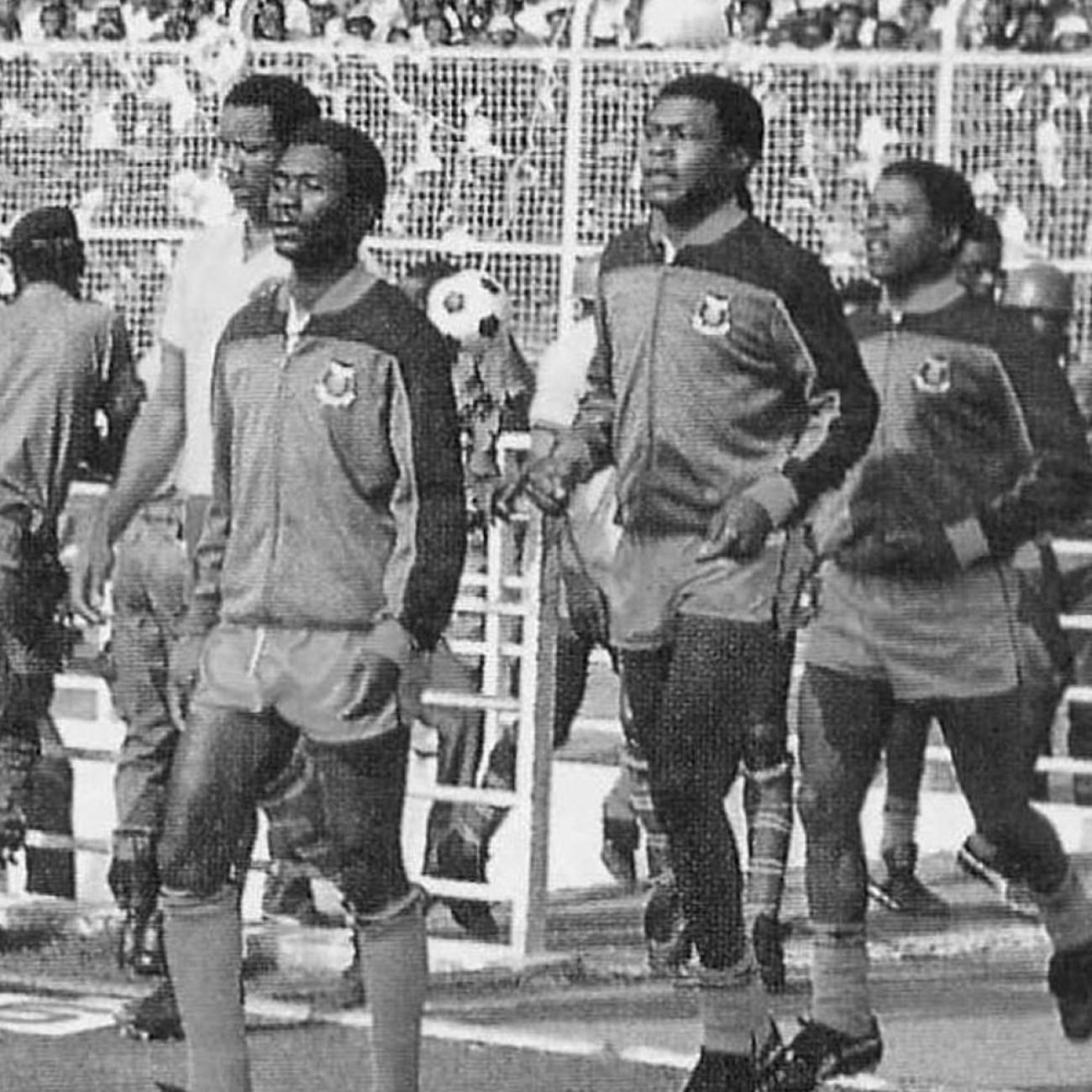 Zambia 1986 Giacca Storica Calcio