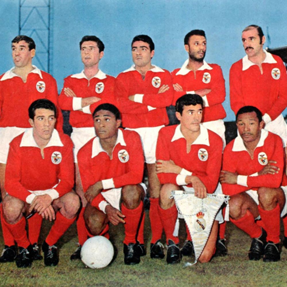 Benfica 1961 62 Retro Football Shirt