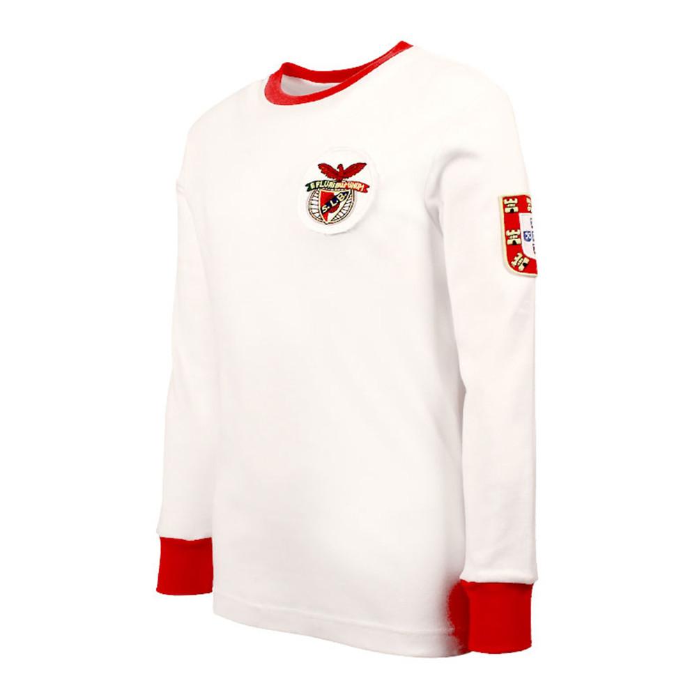 Benfica 1965-66 Away Maglia Storica Calcio