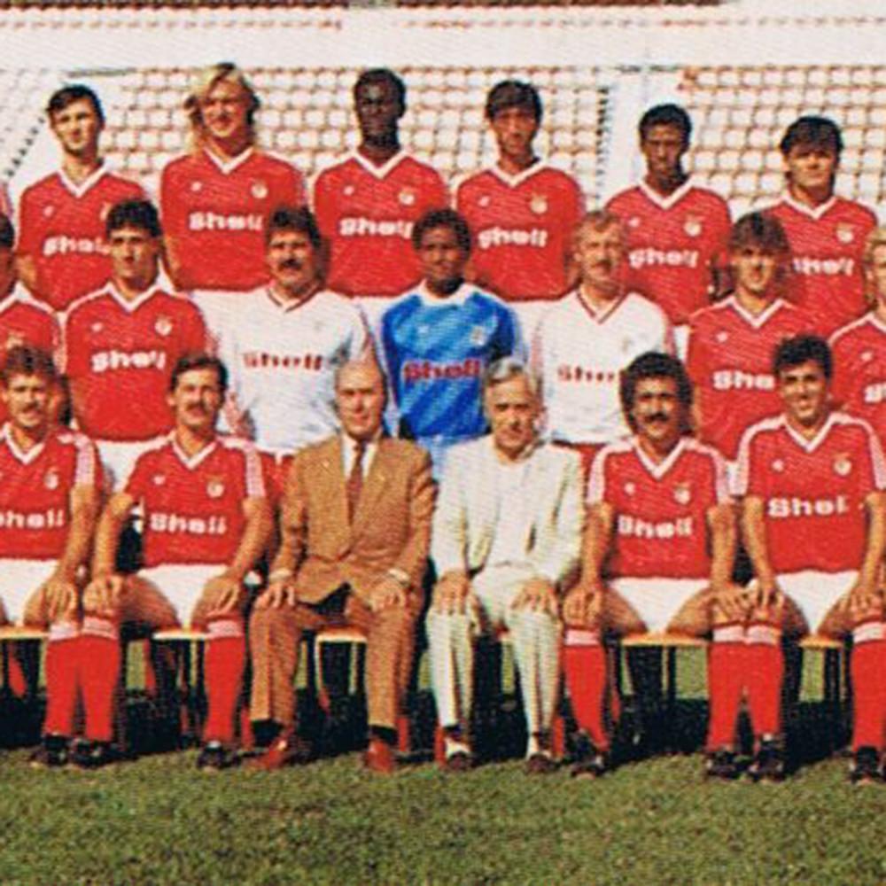 Benfica 1984-85 Maglia Storica Calcio