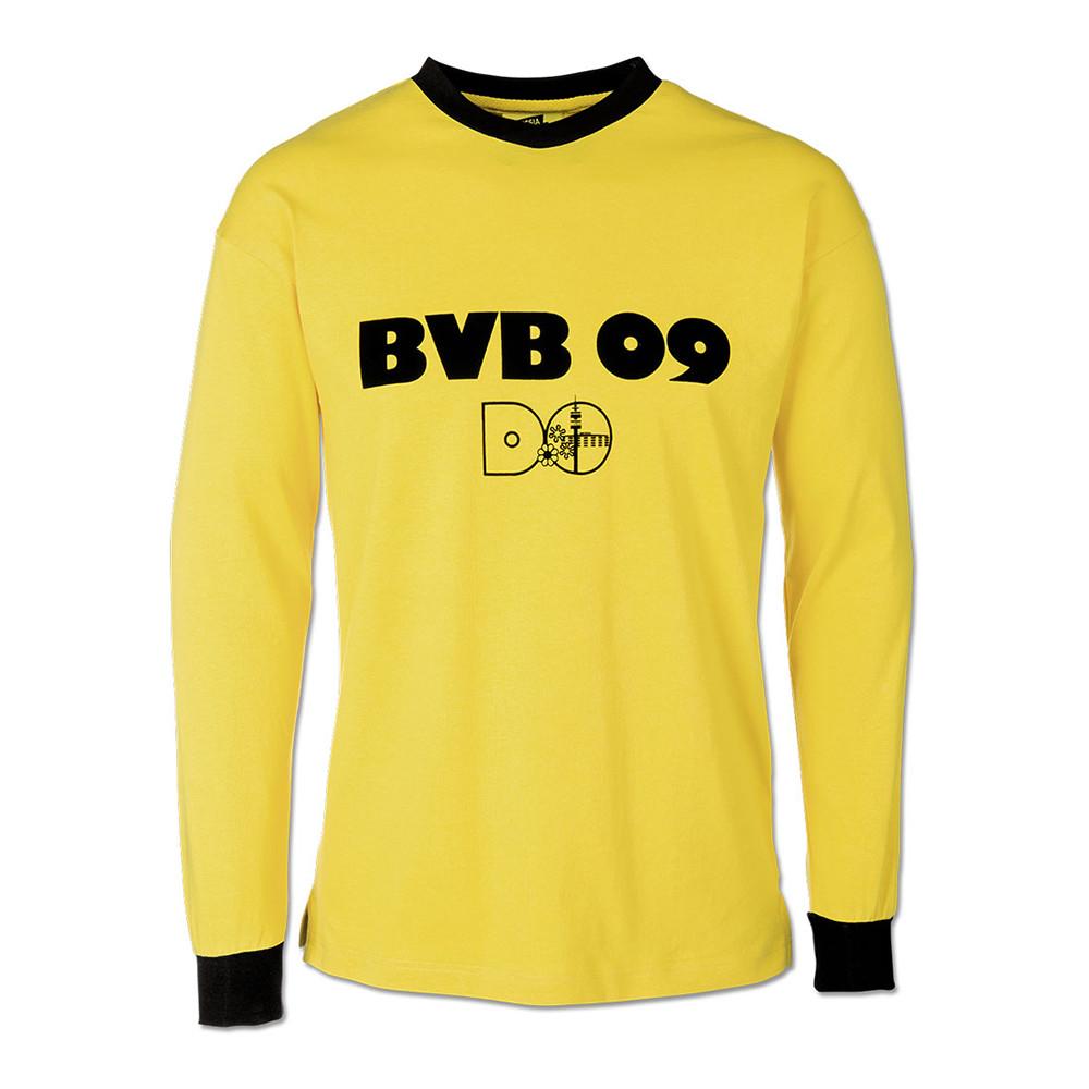 Borussia Dortmund 1975-76 Maglia Storica Calcio