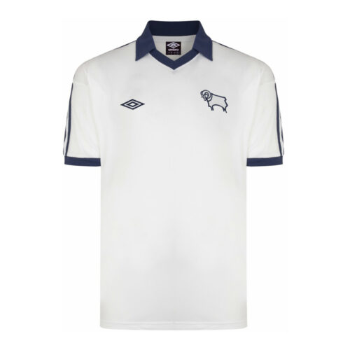 Derby County 1976-77 Maillot Rétro Foot