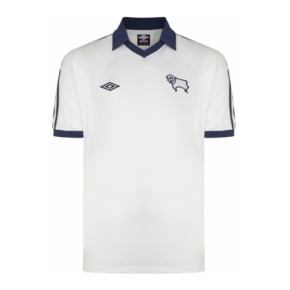 Derby County 1976-77 Retro Football Shirt