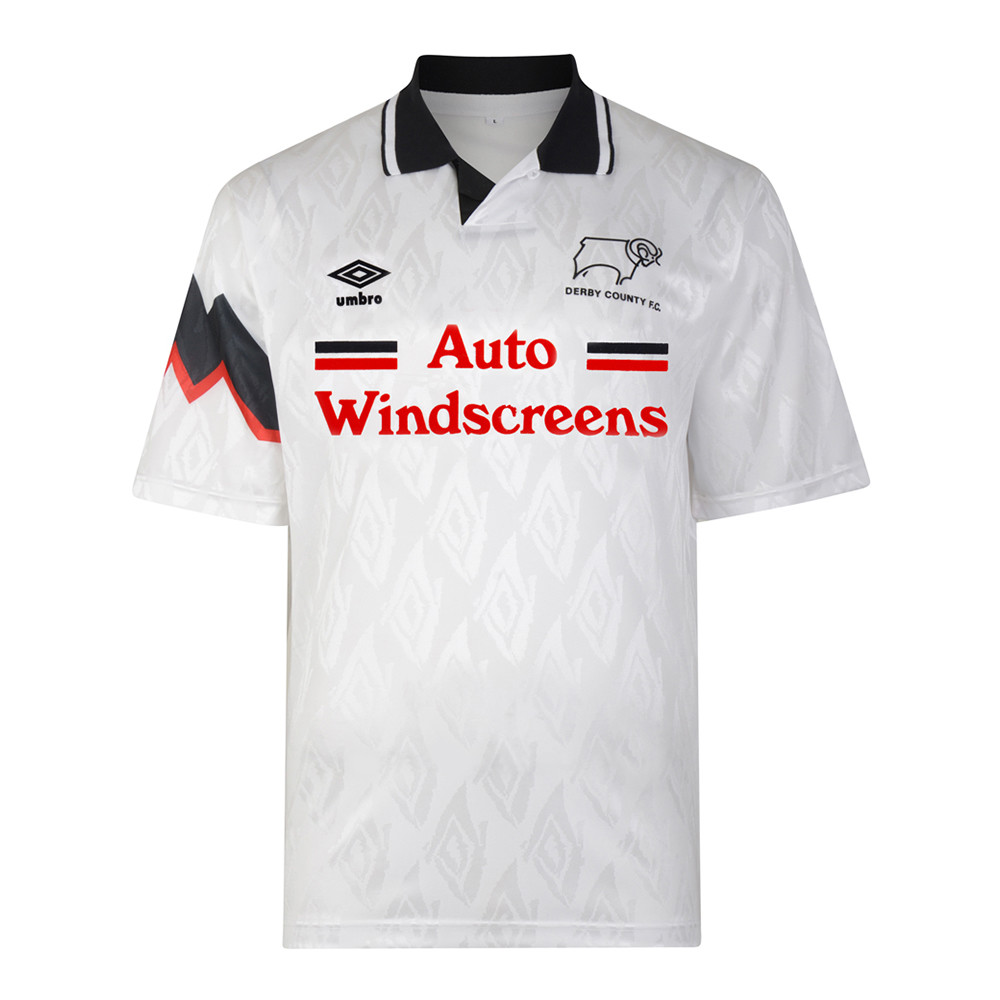 Derby County 1992-93 Maillot Rétro Foot