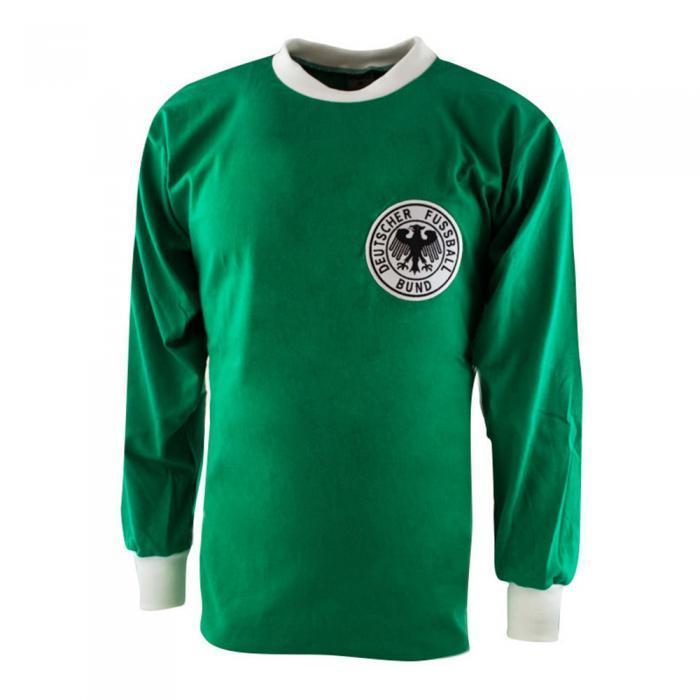 Alemania Federal 1974 Camiseta Vintage Fútbol
