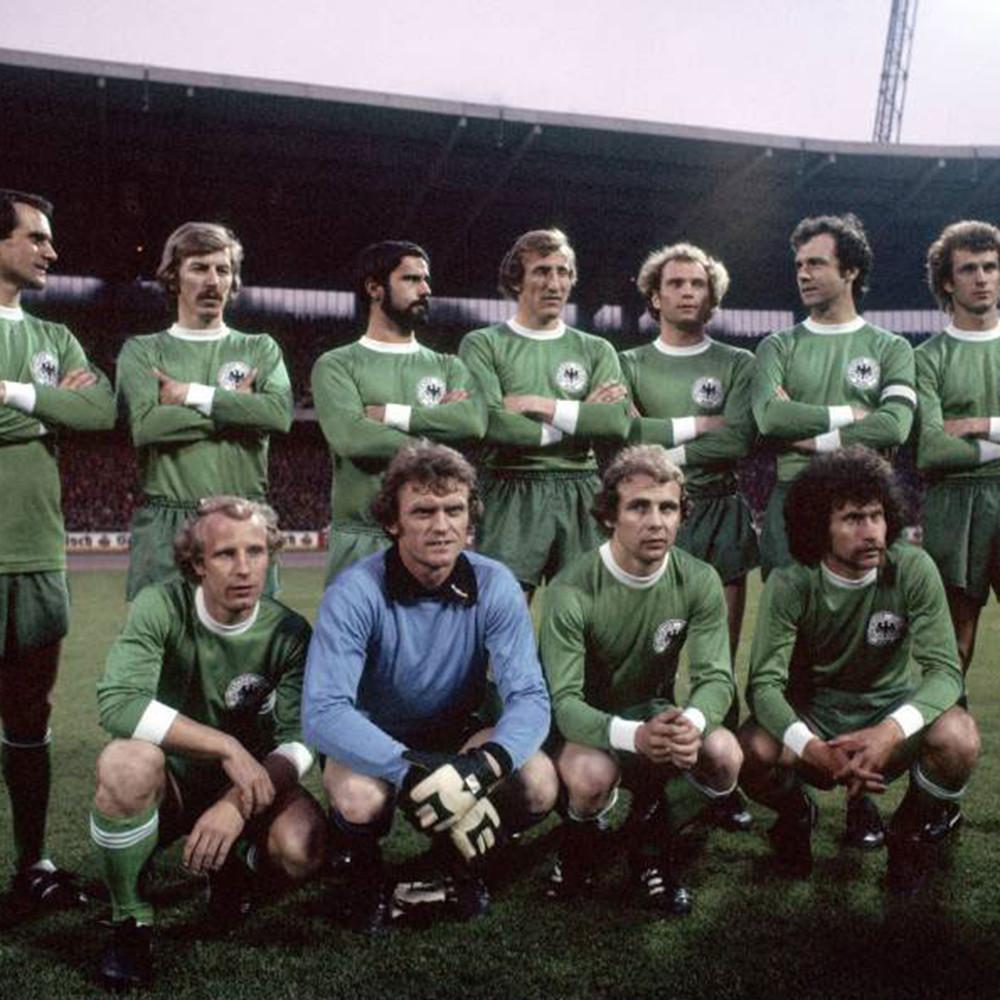 Germania Ovest 1974 Away Maglia Storica Calcio