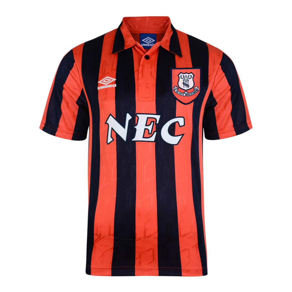 Everton 1992-93 Maglia Calcio Storica