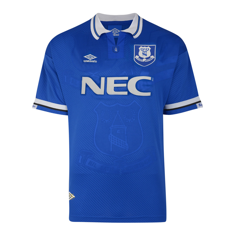 Everton 1993-94 Camiseta Retro Fútbol