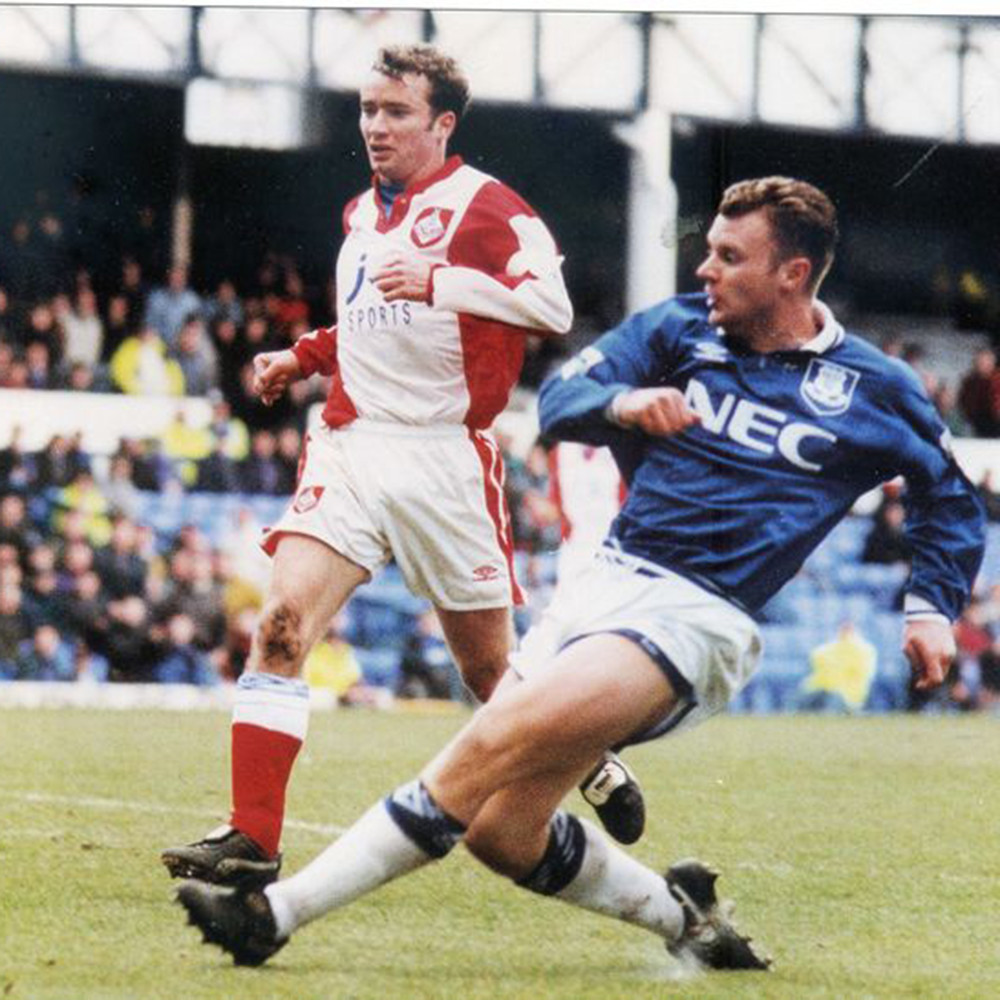 Everton 1993-94 Maglia Storica Calcio