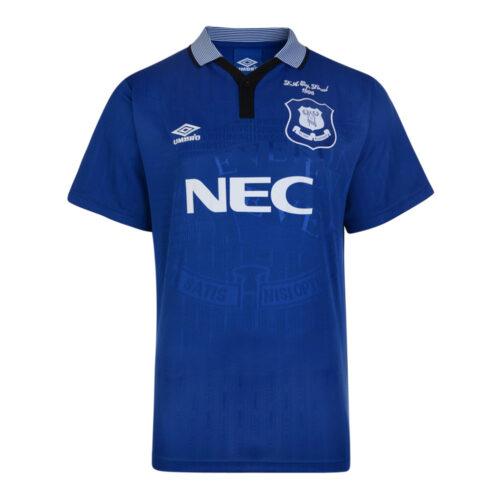 Everton 1994-95 Camiseta Retro Fútbol