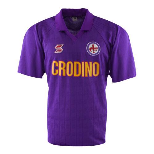 Fiorentina 1988-89 Camiseta Retro Fútbol