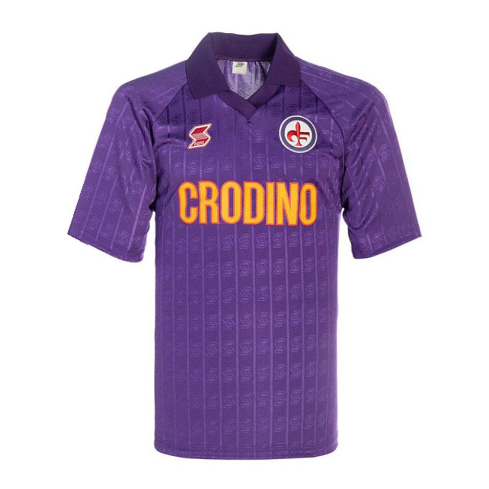 Fiorentina 1988-89 Maglia Storica Calcio