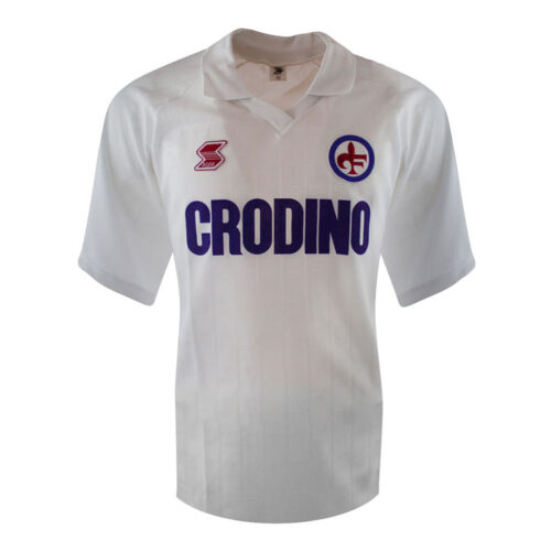 Fiorentina 1988-89 Retro Football Jersey