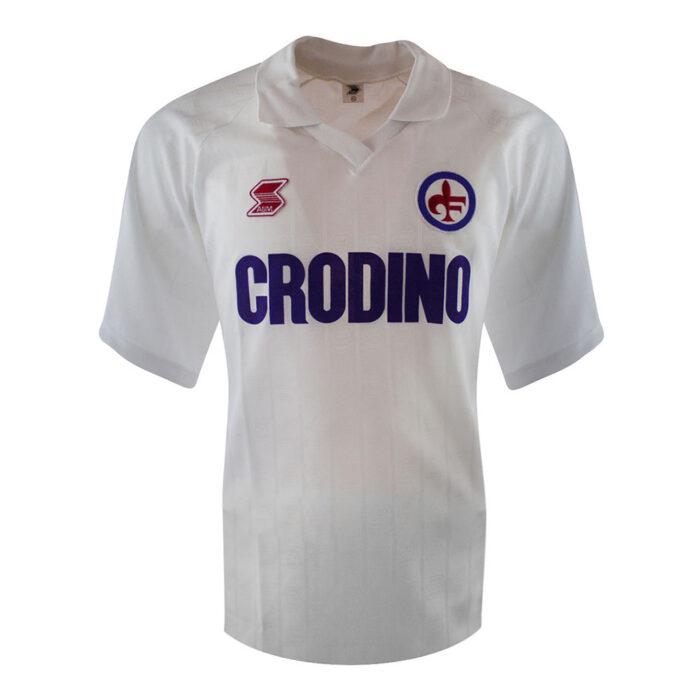 Fiorentina 1988-89 Retro Football Jersey