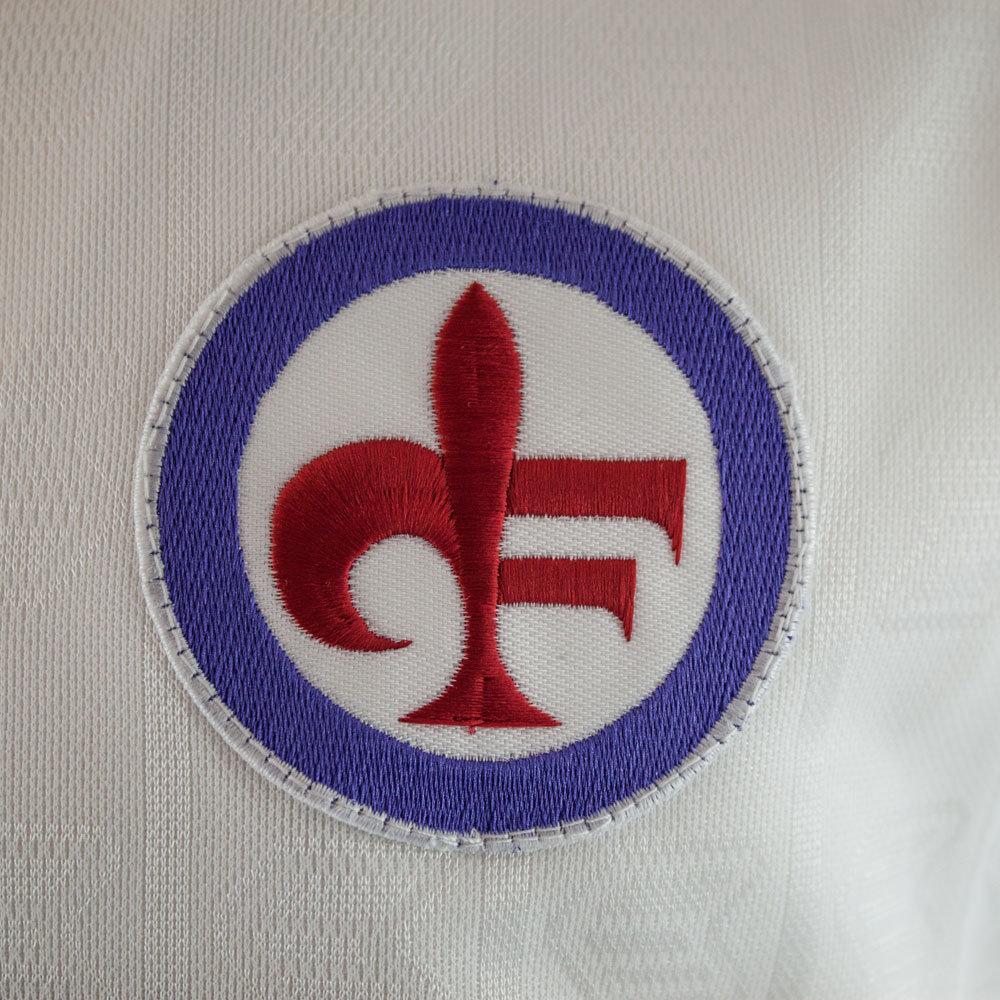 Fiorentina 1988-89 Away Maglia Storica Calcio