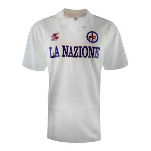 Fiorentina 1989-90 Camiseta Fútbol Retro