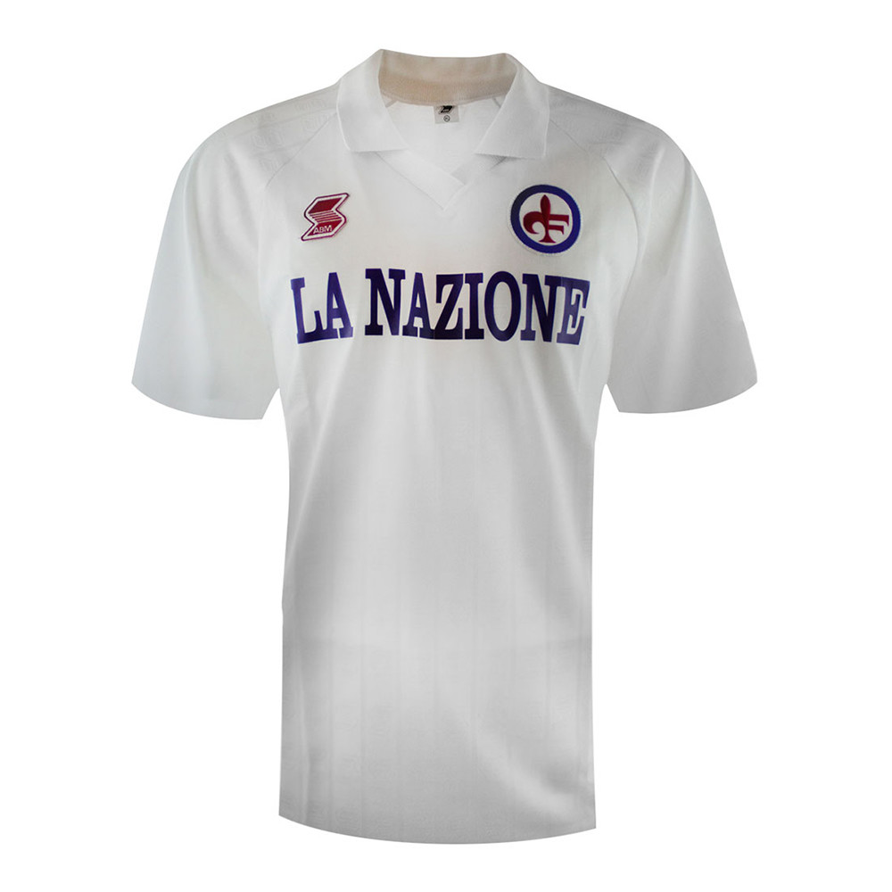 Fiorentina 1989-90 Retro Football Jersey