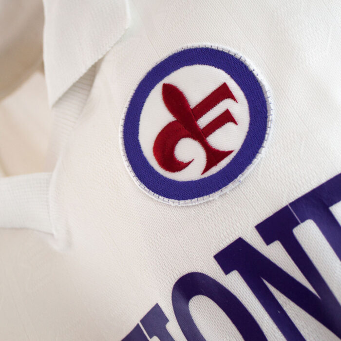 Fiorentina 1989-90 Away Maglia Storica Calcio