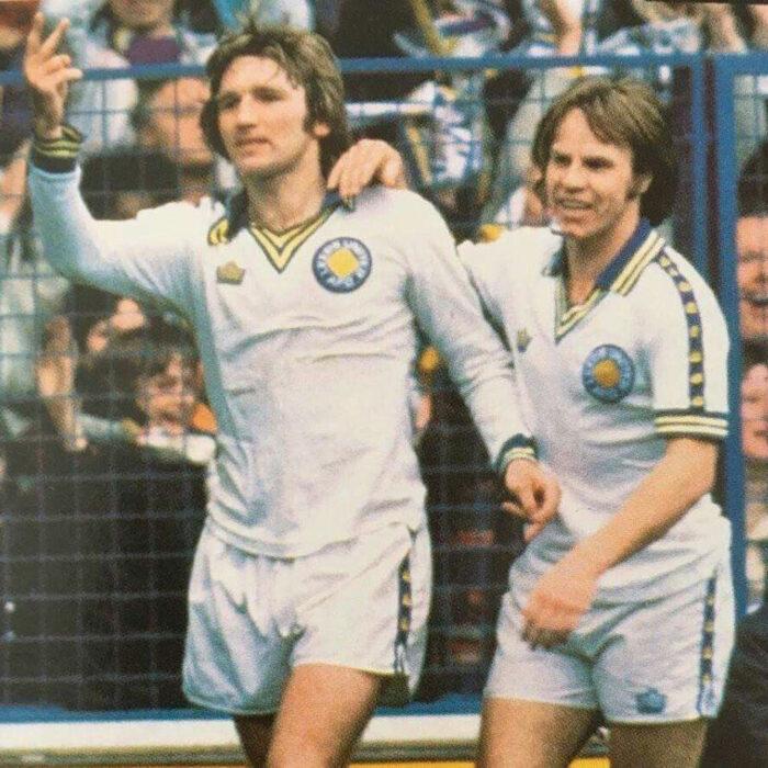 Leeds United 1977-78 Maglia Storica Calcio