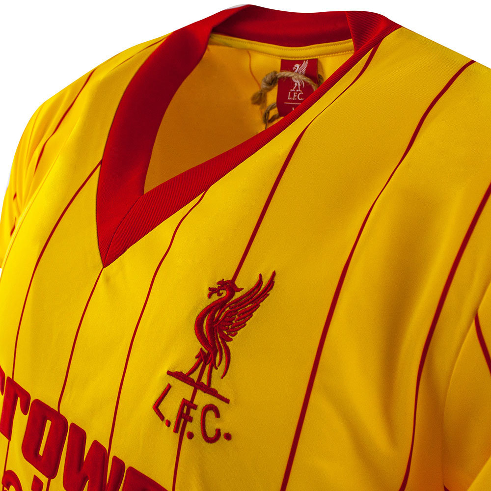 Liverpool 1983-84 Away Maglia Storica Calcio