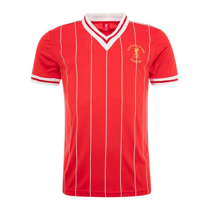 Liverpool 1983-84 Camiseta Vintage Fútbol