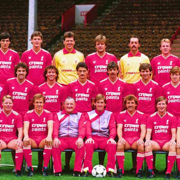 Liverpool 1985-86 Maglia Storica Calcio