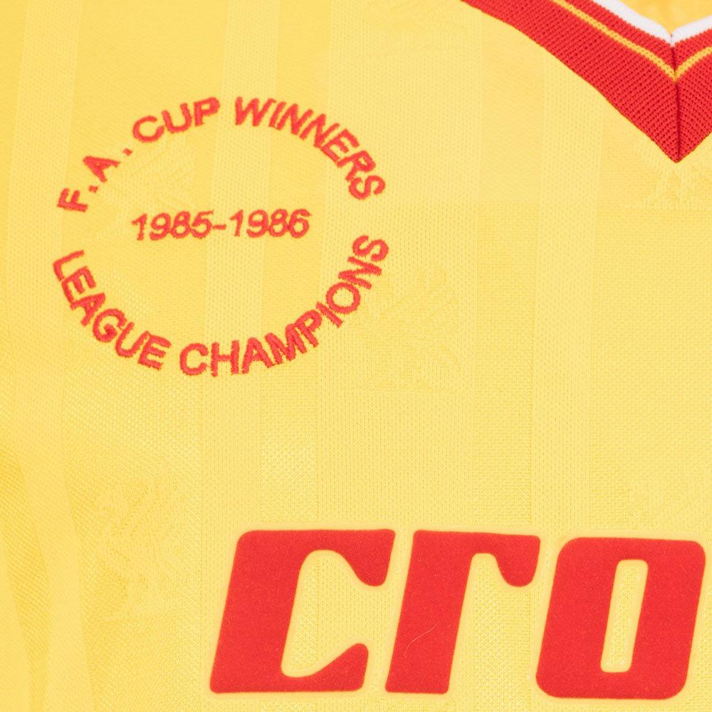 Liverpool 1985-86 Away Maglia Storica Calcio