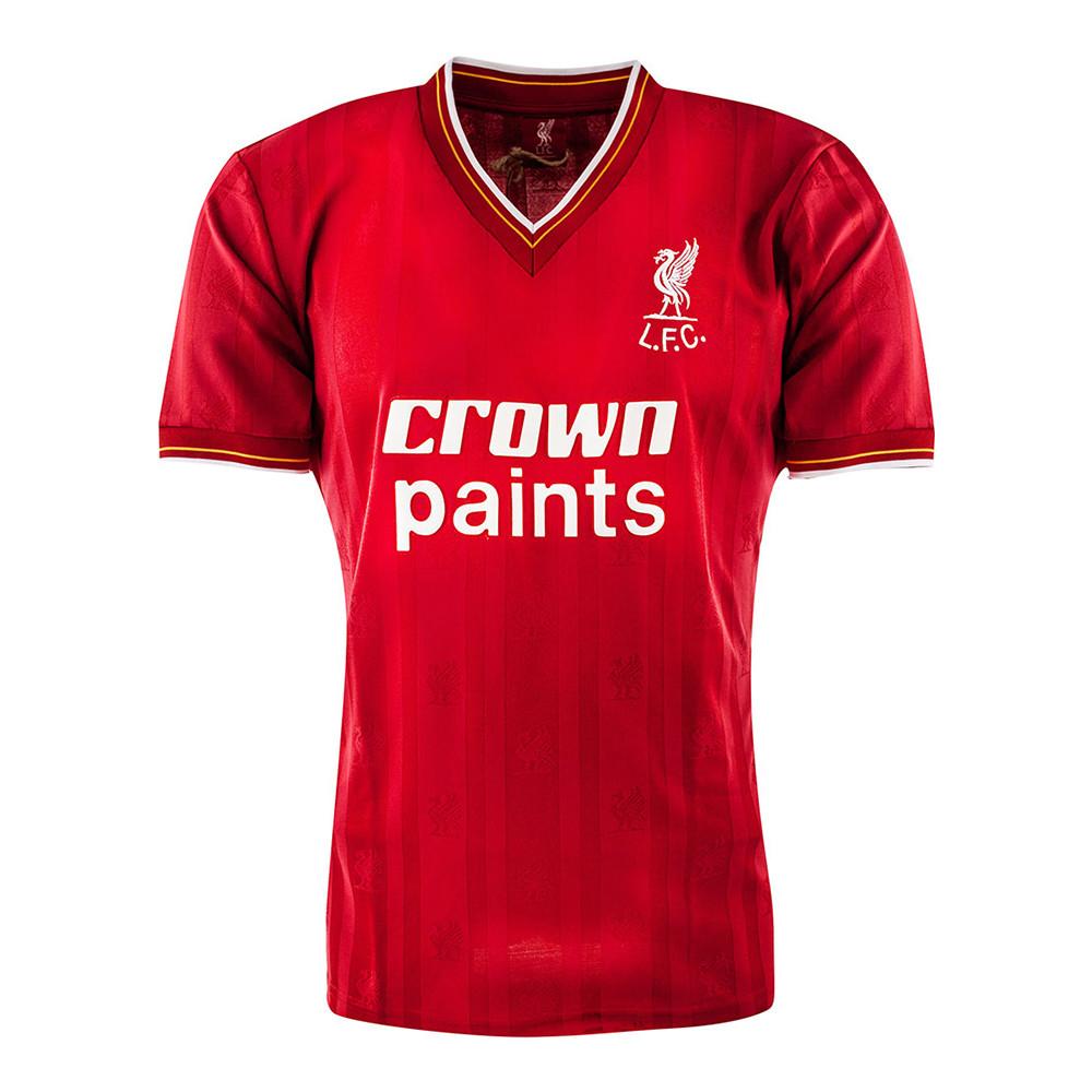 Liverpool 1986-87 Retro Shirt Football