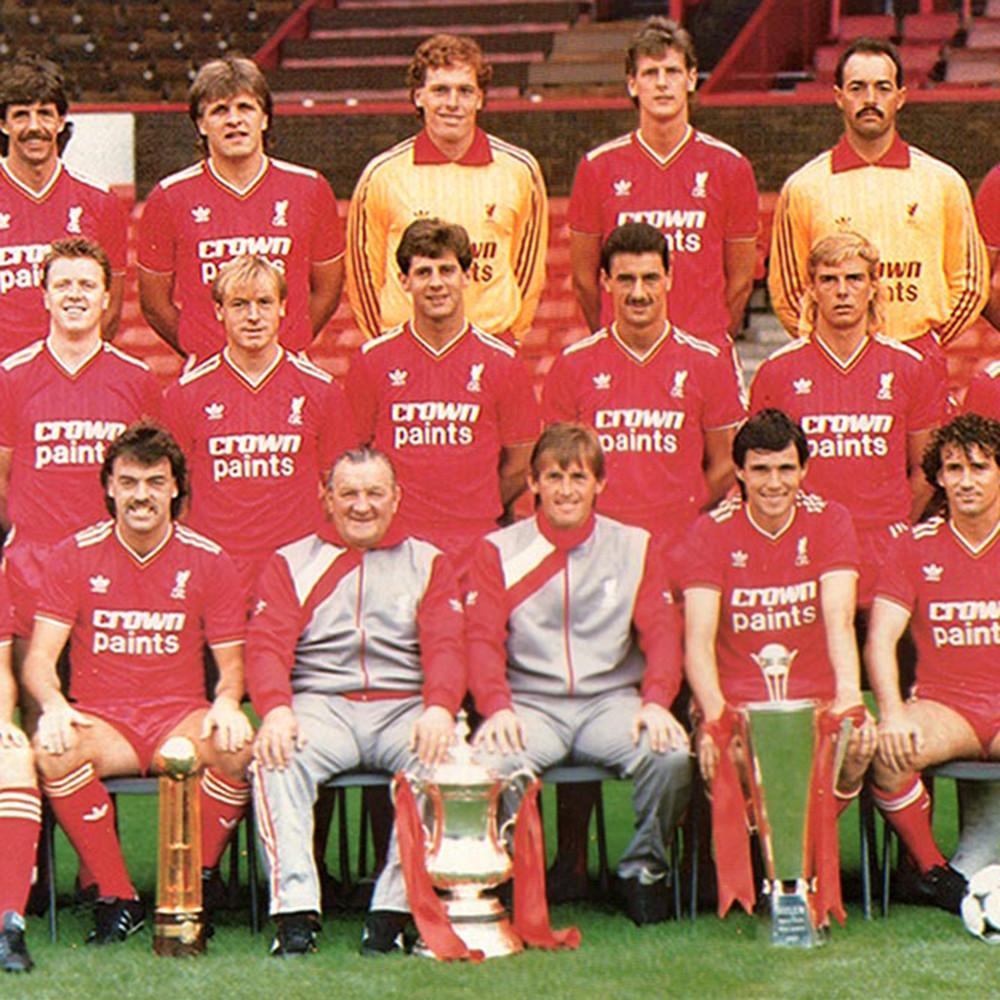 Liverpool 1986-87 Maglia Storica Calcio