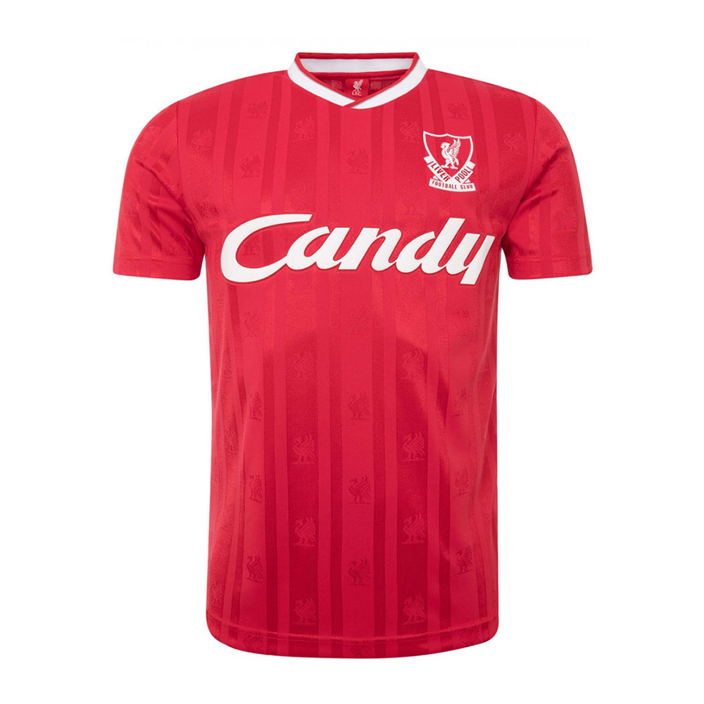 Liverpool 1988-89 Camiseta Retro Fútbol