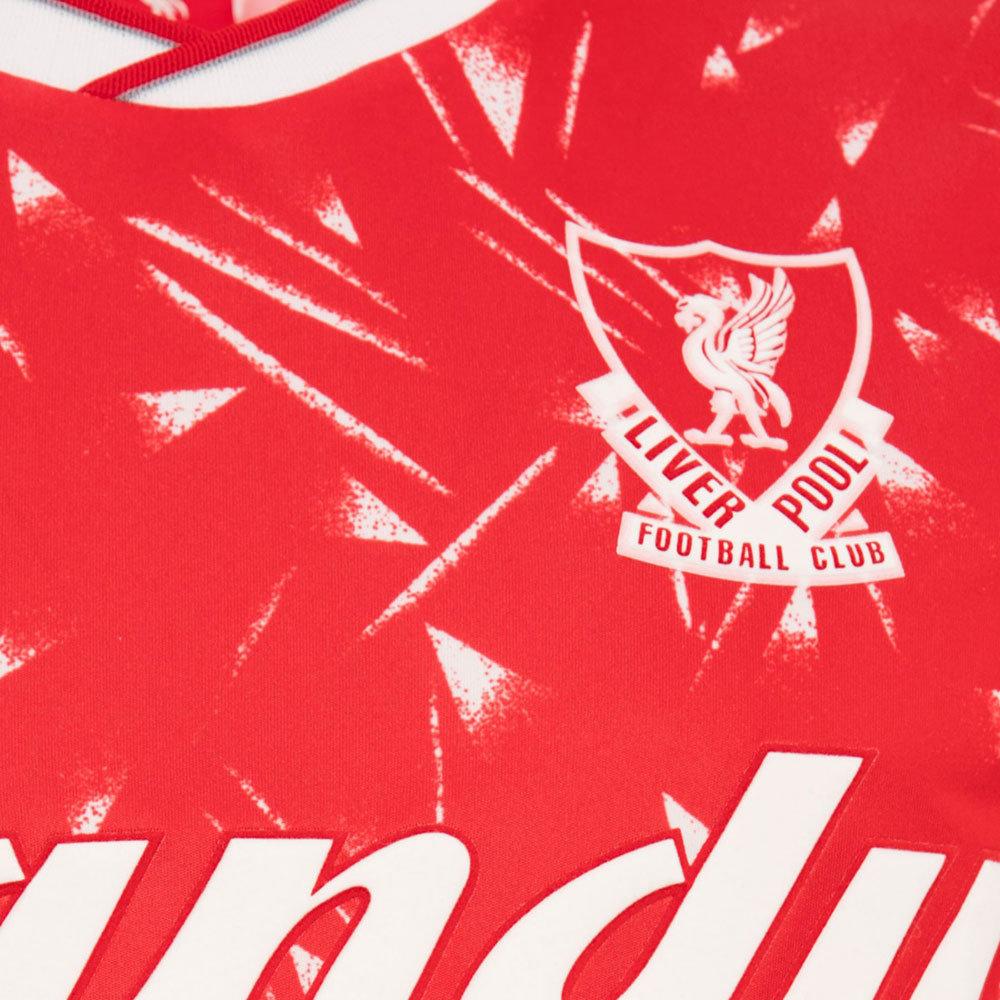Liverpool 1989-90 Maglia Storica Calcio
