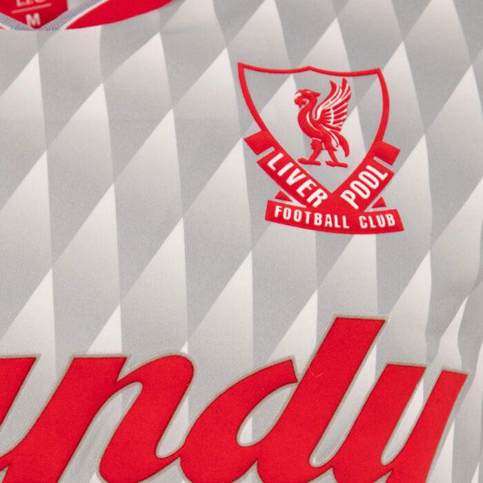 Liverpool 1989-90 Away Maglia Storica Calcio