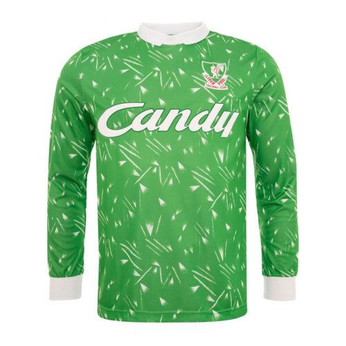 Liverpool 1989-90 Maillot Rétro Gardien