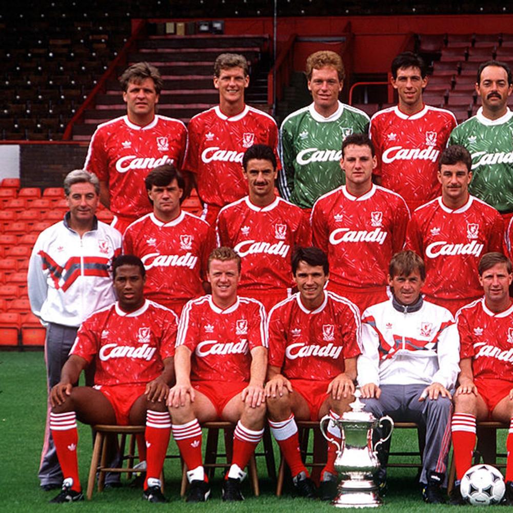 Liverpool 1989-90 Maglia Storica Portiere